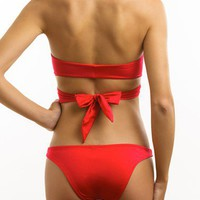Designer Swimwear 360 - Bella Mia Bandeau Bathing Suit