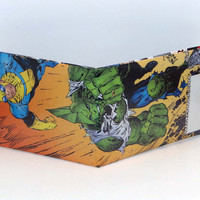 Comic Book Wallet// Invincible and Savage Dragon