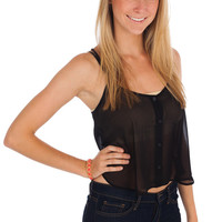 Lush Criss-Cross-Crop Top Womens Tops - Womens Tank Tops - Womens Blouses - Womens Casual Tops - Dressy Tops from For Elyse