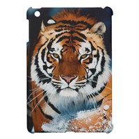 *tiger in snow* iPad mini case
