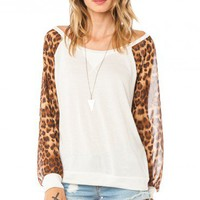 Leopard Play Top - ShopSosie.com