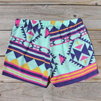 The Billy Native Shorts, Women's Sweet Bohemian Clothing