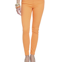 Pull On Color Jegging | Shop Sale at Wet Seal