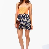 Sacajawea Dress - Neon Orange