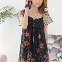 2013 black chiffon elegant dress final sale g990 from YRB