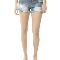 Heavy Fray Hem Short | Shop Shorts at Wet Seal