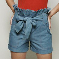 Sharon Shorts - Denim