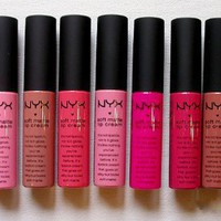 NYX Soft Matte Lip Cream - All 11 Color You Ever Wanted for You Lip Collection