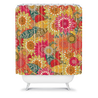 DENY Designs Home Accessories | Sharon Turner Sunshine Garden Shower Curtain
