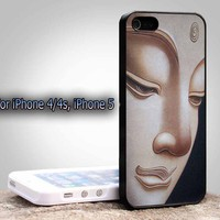 Buddha, Cool, India, Oil Painting, For Apple Phone, IPhone 4/4S Case, IPhone 5 Case, Cover Plastic