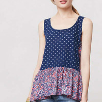 Anthropologie - Petalled Peplum Top