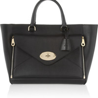 Mulberry | The Willow leather tote | NET-A-PORTER.COM