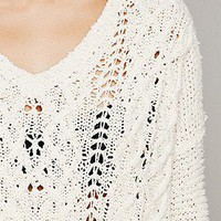 Free People  Cross My Heart Pullover at Free People Clothing Boutique