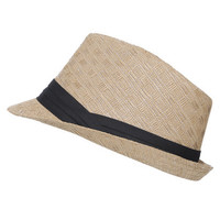 Woven Fedora | Shop Americana at Wet Seal