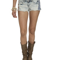 Americana Fray Hem Short | Shop Americana at Wet Seal