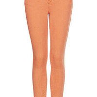 MOTO Orange Leigh Jeans