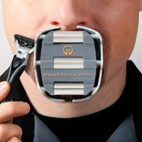 Goateesaver - The Goatee Shaving Template