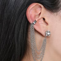 Fireball Earring Cuff | Shop Jewelry at Wet Seal