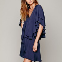 Free People Shamita Ruffle Dress