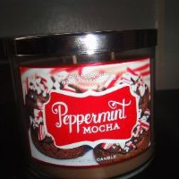 Amazon.com: Bath and Body Works Peppermint Mocha 3 Wick Candle 2012 Design 14.5 Oz: Home & Kitchen