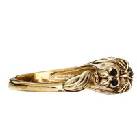 ASOS CURVE Lion Ring at asos.com