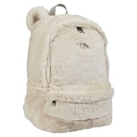 Fur Polar Bear Backpack