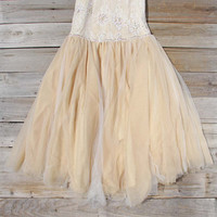 Spool Couture Pale Vine Dress, Sweet Women's Party Dresses