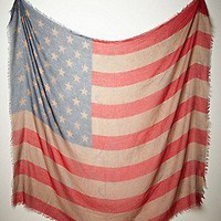 Free People  Tattered Flag Scarf at Free People Clothing Boutique