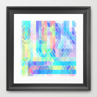 Re-Created Laurels II Framed Art Print by Robert Lee