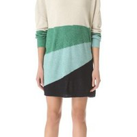 Band of Outsiders Striped Sweater Dress | SHOPBOP