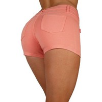 Basic Shorts Premium Stretch Moleton With gentle push up stitching - 10 Colors!