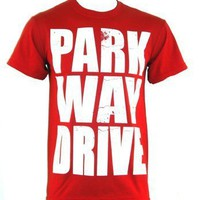 Parkway Drive T-Shirt - Block Logo - Offical Band Merch - Buy Online at Grindstore.com