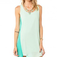 Melly Dress in Mint - ShopSosie.com