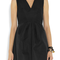 McQ Alexander McQueen | Faille mini dress | NET-A-PORTER.COM
