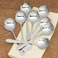 Stainless Steel Soup Spoons