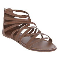Strappy Gladiator Sandal | Shop Shoes at Wet Seal
