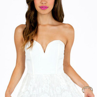 I Heart Lace Romper $50