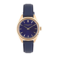 Mougin & Piquard™ for J.Crew Minuit watch in navy - watches - Women's accessories - J.Crew