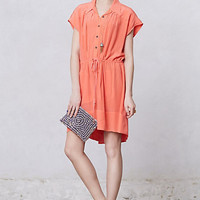 Paonia Drawstring Shirtdress