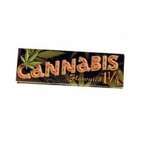 Cannabis Flavored Regular Size Rolling Papers - Single Pack - Flavored Papers - Rolling Papers & Blunts - Rolling Accessories - Grasscity.com