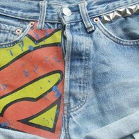Custom 90's Levi's - Superman from DemDemxx