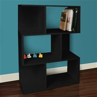College Book Tower Black - Way Basics Dorm