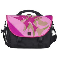 Pink Geometric Bag Bags For Laptop from Zazzle.com