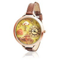 Vintage Handmade Polymer Clay Embellished Watch