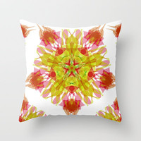 INDRIYA Throw Pillow by Chrisb Marquez