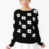 Pull My Daisy Knit
