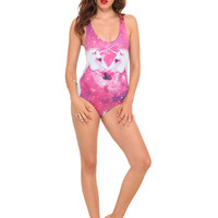 Teenage Runaway Unicorn Galaxy Monokini | Hot Topic