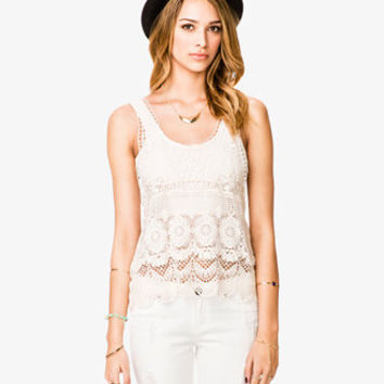Meadow Crocheted Tank