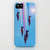 ARROWS IN FLIGHT iPhone & iPod Case by catspaws