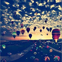 air balloons Stretched Canvas by Sjaefashion
